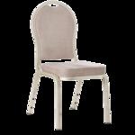 Bankettstol sølvgrå B:45cm H:93cm