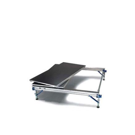 Gulv for telt sort.inkl.oppbygging pr.m² 1 / 2