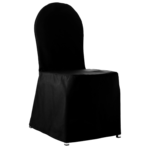 Stoltrekk, sort til bankettstol B:45cm H:93cm