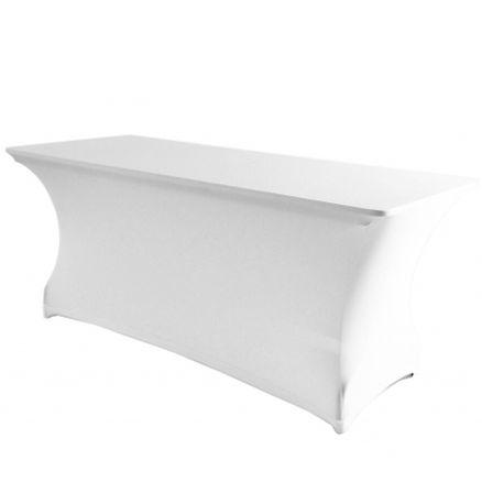<b>AVLANG</b> stretchduk hvit klappbord 180x80cm 1 / 1