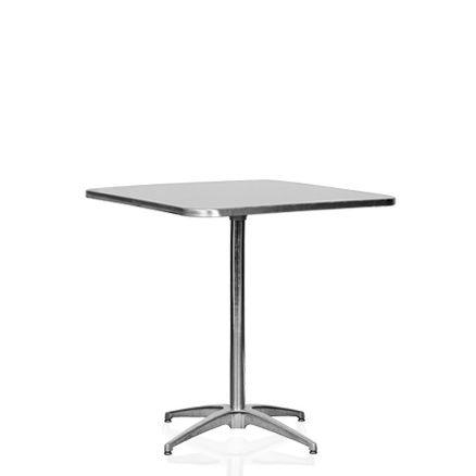 Klappbord, stål 4 pers. 70x70cm H:73cm 1 / 1