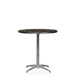Cafébord, laminat 4 pers. D:76cm H:73cm