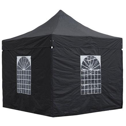 Quick-Up telt sort 3x3m 10-10 pers 1 / 3